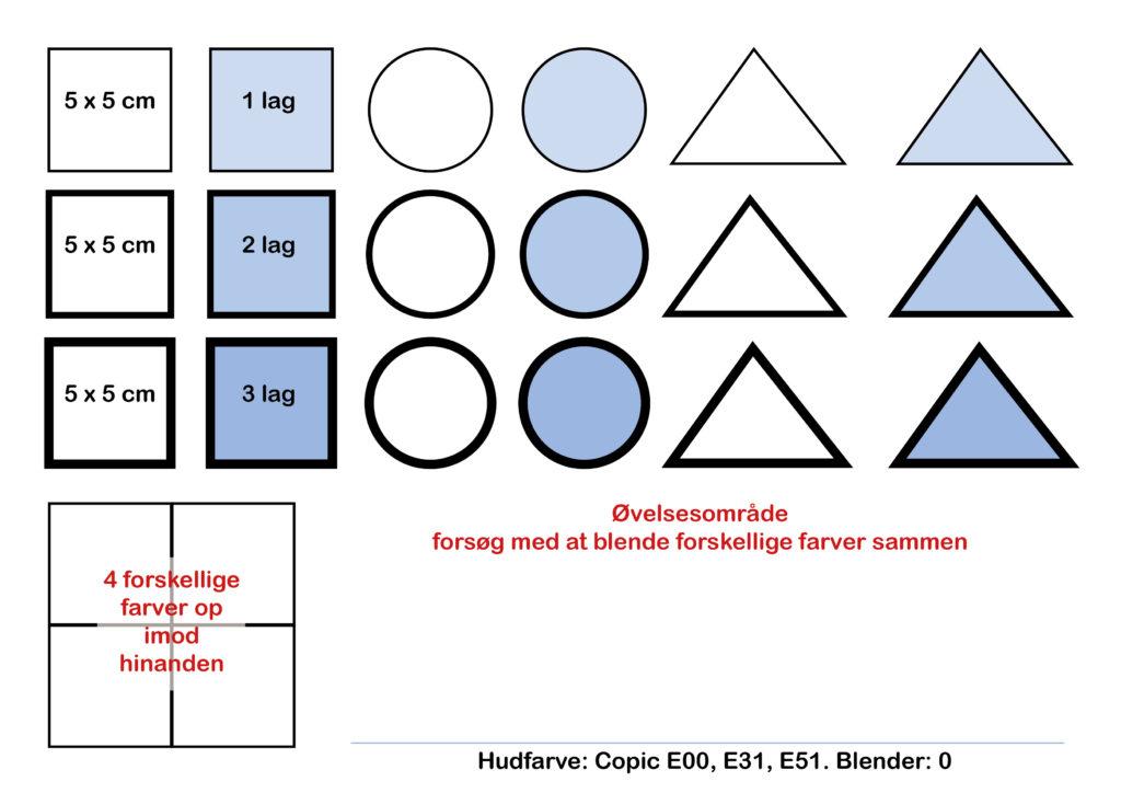Marker teknik for designstuderende